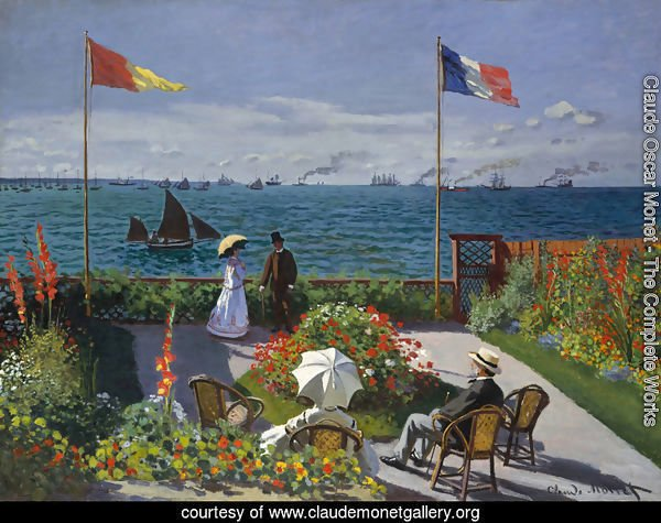 Garden at Sainte-Adresse 2