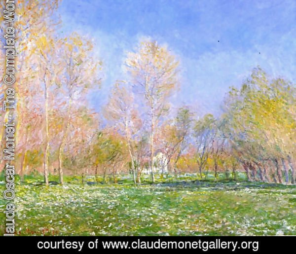 Claude Oscar Monet - Springtime in Giverny