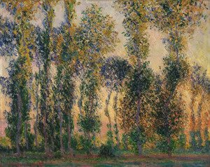Claude Oscar Monet - Poplars at Giverny 2