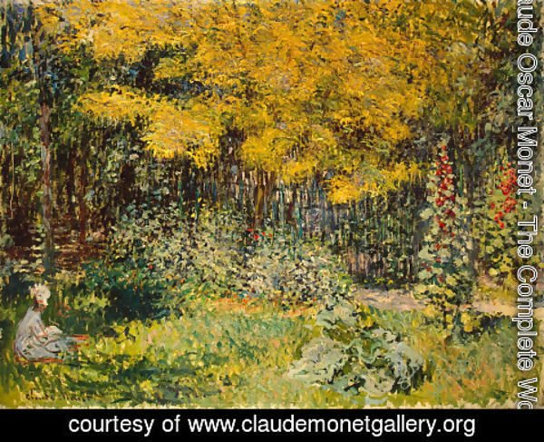 Claude Oscar Monet - The Garden 2