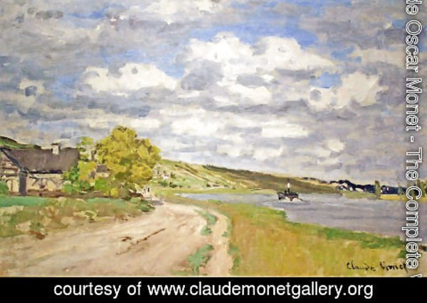Claude Oscar Monet - The Estuary of the Siene