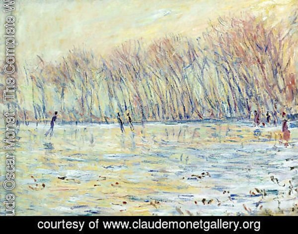 Claude Oscar Monet - Scaters in Giverny