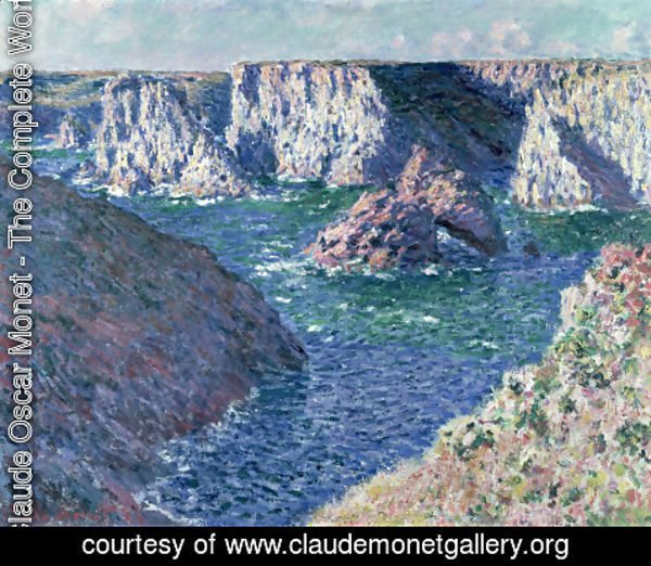 Claude Oscar Monet - Rocks at Belle-Ile