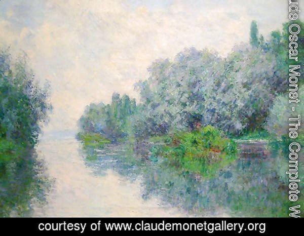 Claude Oscar Monet - The Seine near Giverny 2