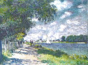 Claude Oscar Monet - The Seine at Argenteuil 6