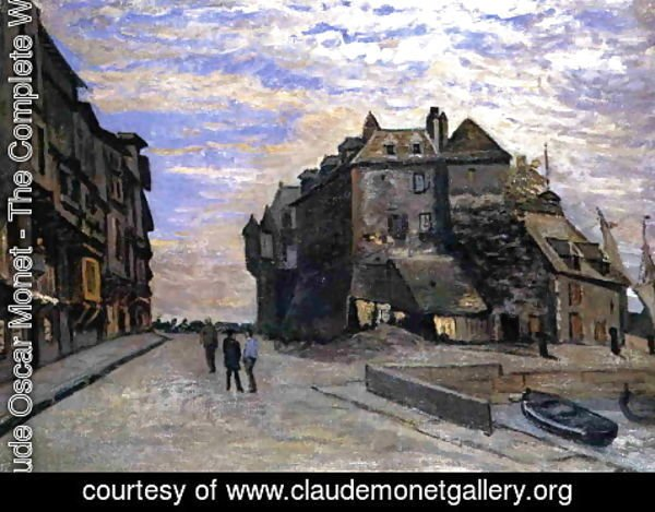 Claude Oscar Monet - The Lieutenancy at Honfleur