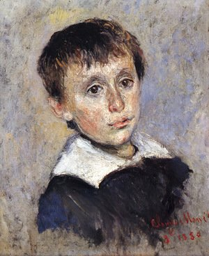 Claude Oscar Monet - Portrait of Jean Monet