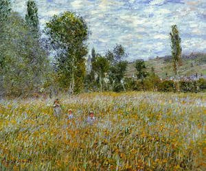 Claude Oscar Monet - A Meadow