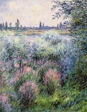 Claude Oscar Monet - A Spot On The Banks Of The Seine