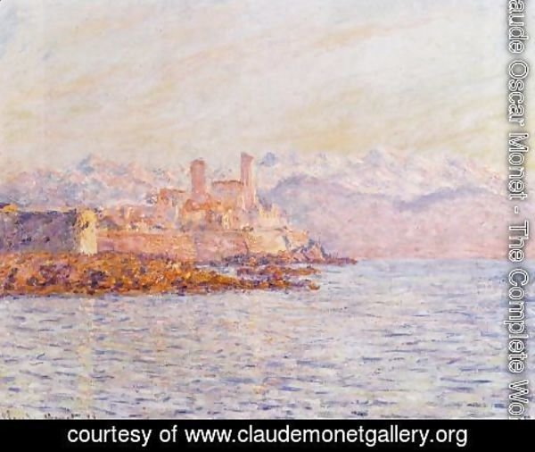 Claude Oscar Monet - Antibes