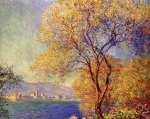 Claude Oscar Monet - Antibes Seen From The Salis Gardens2