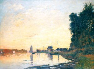 Claude Oscar Monet - Argenteuil  Late Afternoon