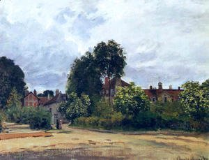Claude Oscar Monet - Argenteuil  The Hospice