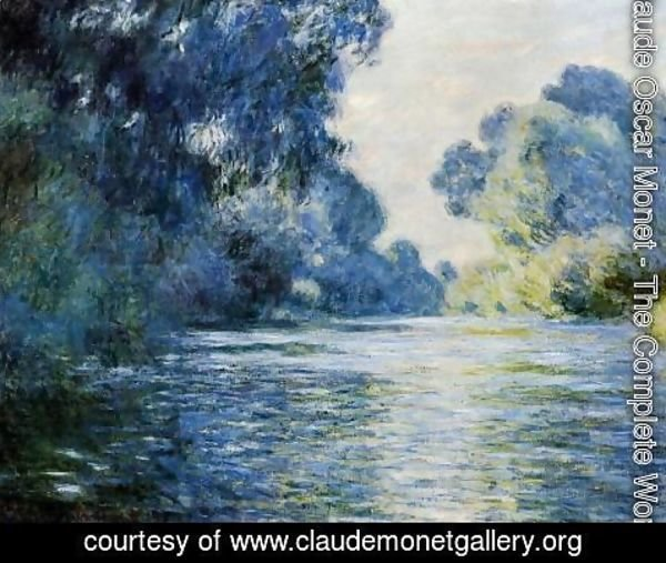 Claude Oscar Monet - Arm Of The Seine At Giverny