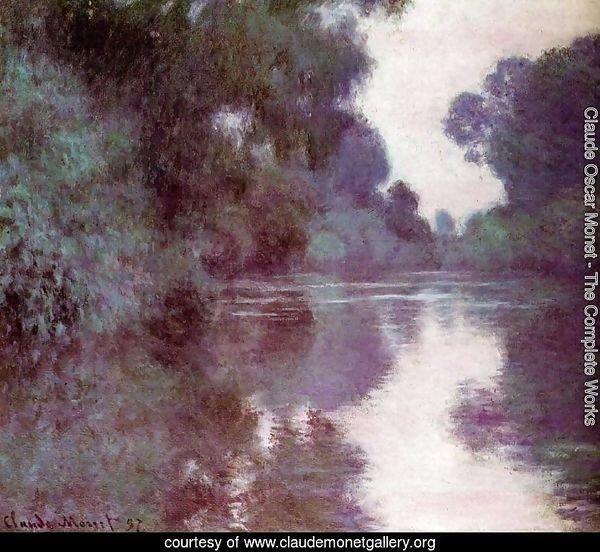 Arm Of The Seine Near Giverny