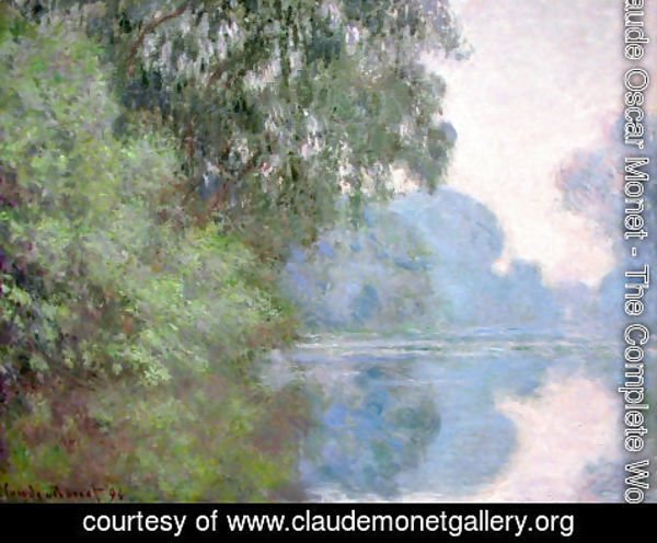 Claude Oscar Monet - Arm Of The Seine Near Giverny2