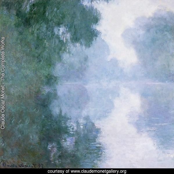 Arm Of The Seine Near Giverny In The Fog2