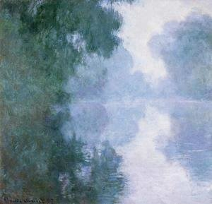 Claude Oscar Monet - Arm Of The Seine Near Giverny In The Fog2