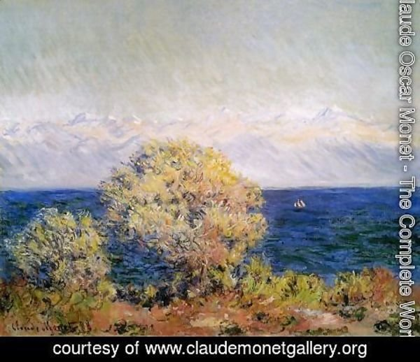 Claude Oscar Monet - At Cap D Antibes2