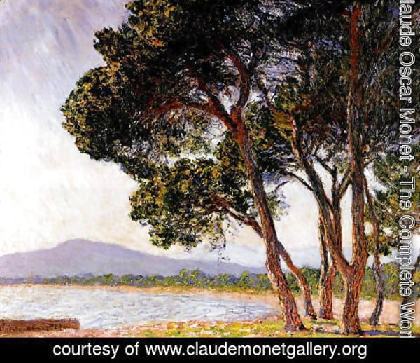 Claude Oscar Monet - Beach In Juan Les Pins