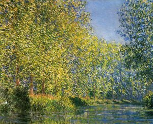 Claude Oscar Monet - Bend In The River Epte