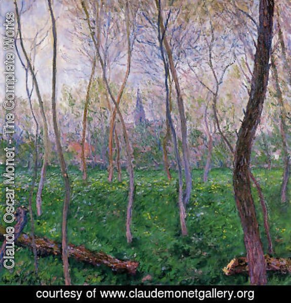 Claude Oscar Monet - Bennecourt2