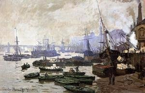 Claude Oscar Monet - Boats In The Port Of London