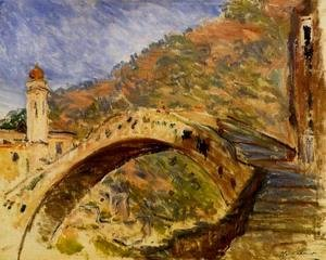 Claude Oscar Monet - Bridge At Dolceacqua