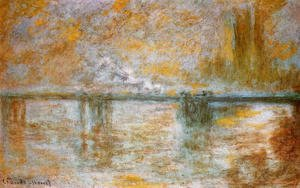 Claude Oscar Monet - Charing Cross Bridge2