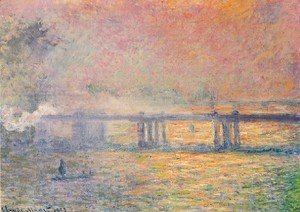 Claude Oscar Monet - Charing Cross Bridge3