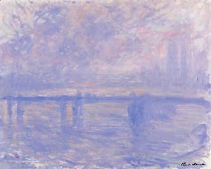 Claude Oscar Monet - Charing Cross Bridge7