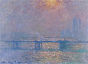 Claude Oscar Monet - Charing Cross Bridge  The Thames2
