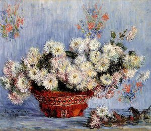 Claude Oscar Monet - Chrysanthemums2