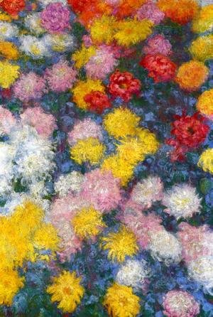 Claude Oscar Monet - Chrysanthemums3