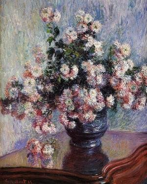 Claude Oscar Monet - Chrysanthemums4
