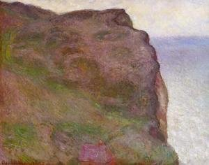 Claude Oscar Monet - Cliff At Petit Ailly  At Varengeville