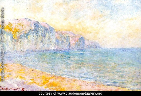 Cliffs At Pourville  Morning