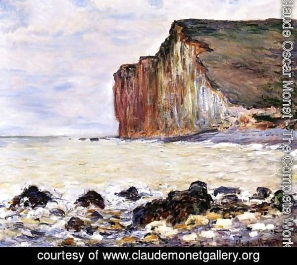 Claude Oscar Monet - Cliffs Of Les Petites Dalles