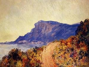 Claude Oscar Monet - Coastal Road At Cap Martin  Near Menton