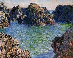 Claude Oscar Monet - Coming Into Port Goulphar  Belle Ile