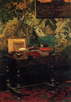 Claude Oscar Monet - Corner Of A Studio