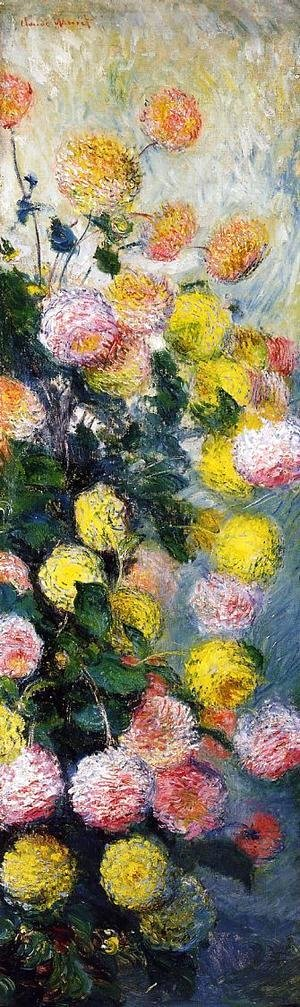 Claude Oscar Monet - Dahlias2