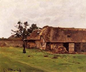 Claude Oscar Monet - Farm Near Honfleur