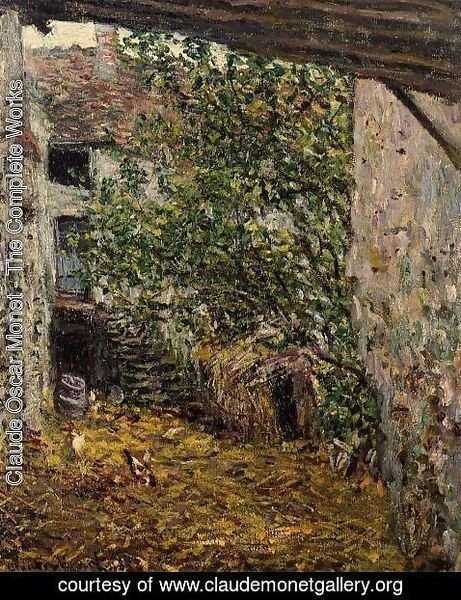 Claude Oscar Monet - Farmyard