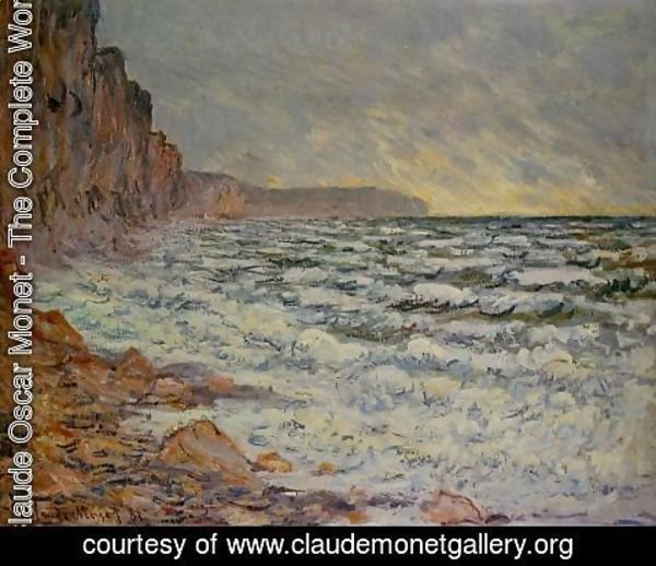 Claude Oscar Monet - Fecamp  By The Sea