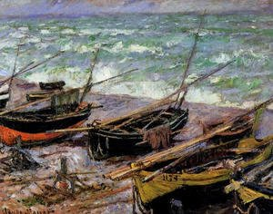 Claude Oscar Monet - Fishing Boats