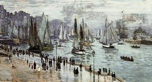 Claude Oscar Monet - Fishing Boats Leaving The Port Of Le Havre