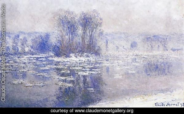 Floes At Bennecourt