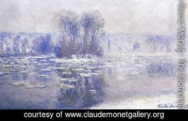 Claude Oscar Monet - Floes At Bennecourt