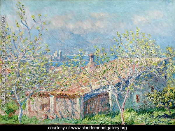 Gardeners House At Antibes